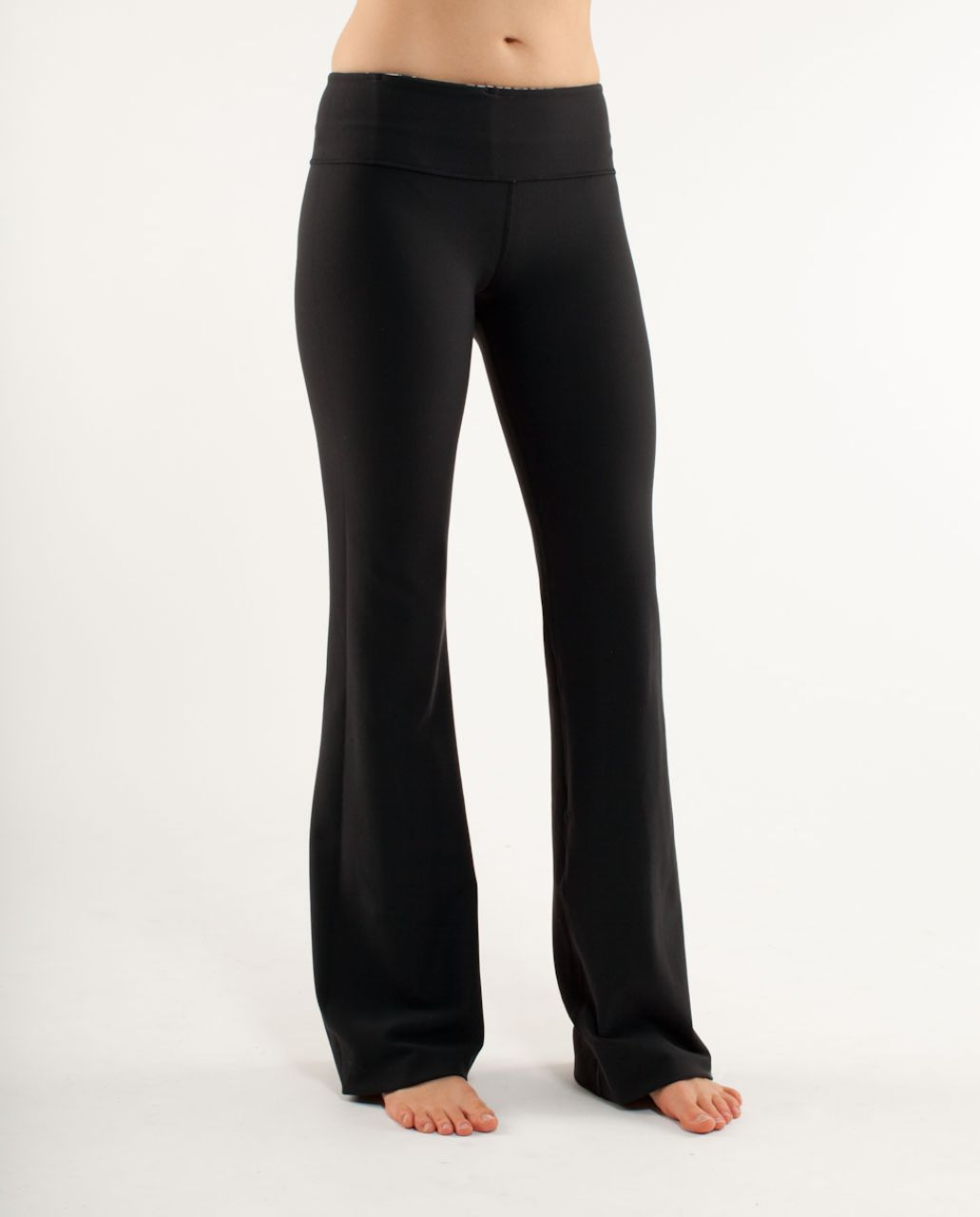 Lululemon Groove Pant (Tall) - Black /  White Black Glacier Lace /  White Black Glacier Lace