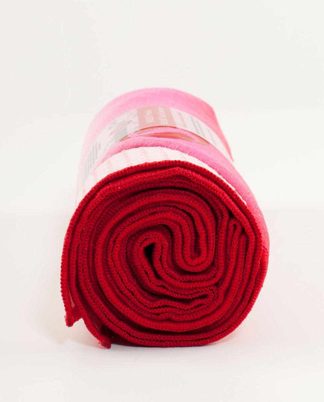 Lululemon Skidless Towel - Currant Smoky Rose Pig Pink Ombre Stripe