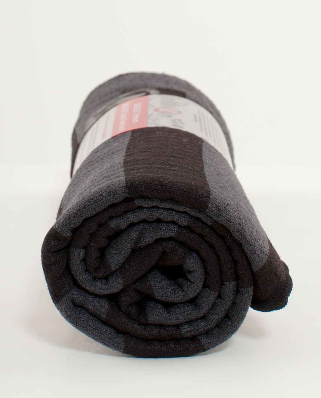 Lululemon Skidless Towel - Deep Coal Coal Wide Tonal Stripe
