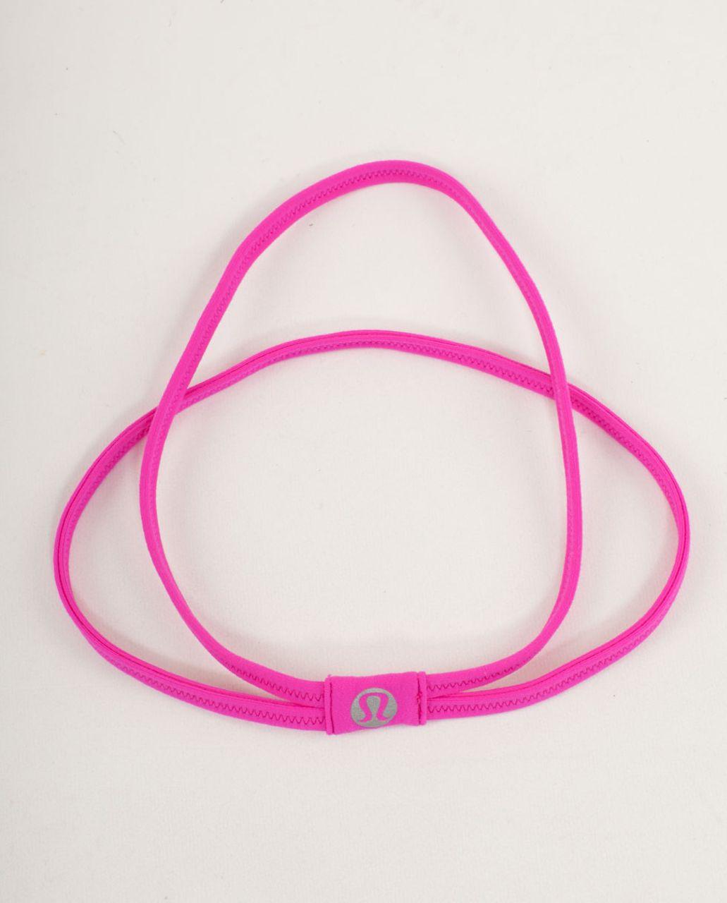 Lululemon DANCE! Headband - Paris Pink