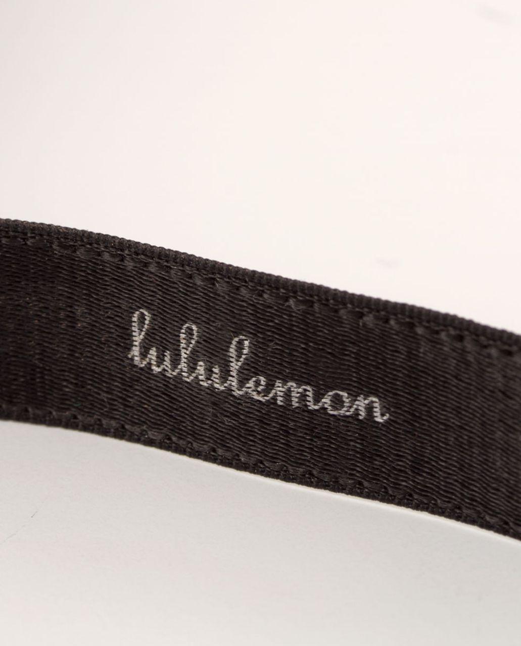 Lululemon Skinny Satin Pirouette - Black (First Release)