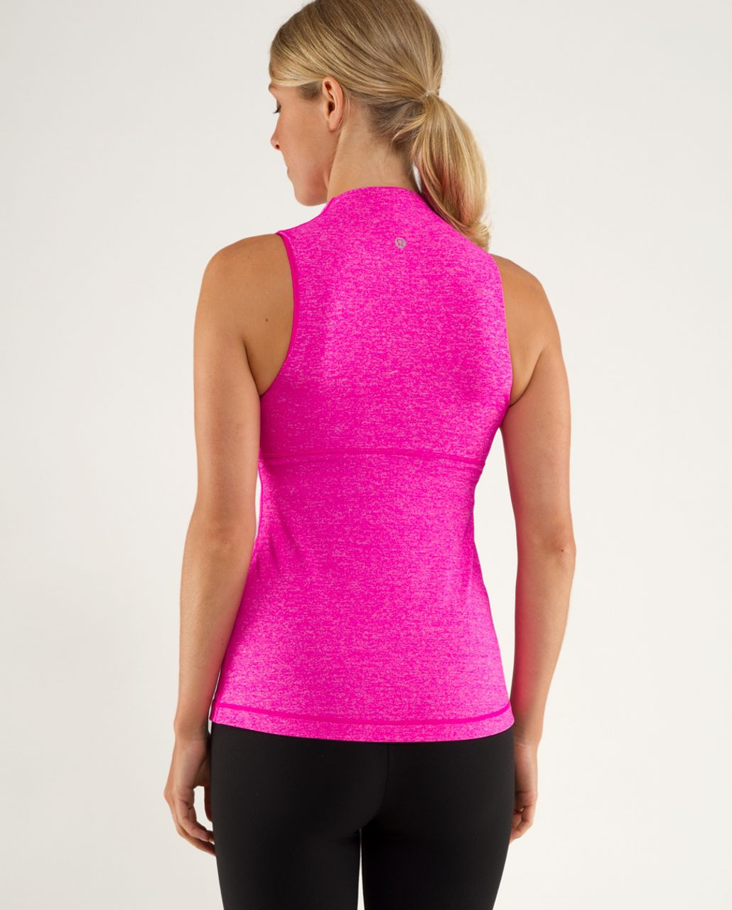 Lululemon Whisper Tank - Heathered Paris Pink