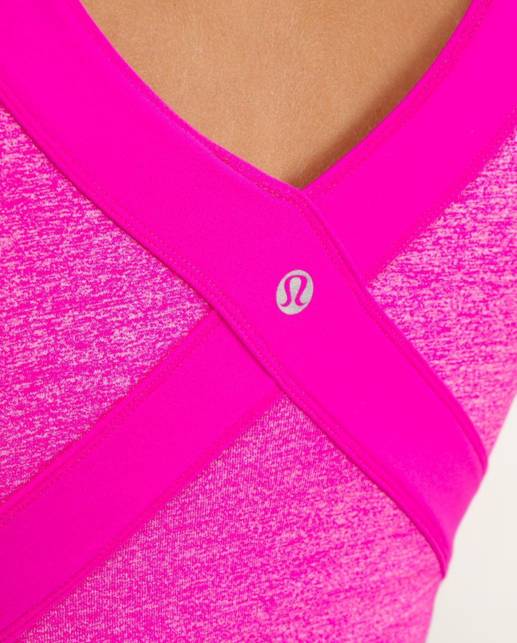 Lululemon Wrap Tank - Paris Pink