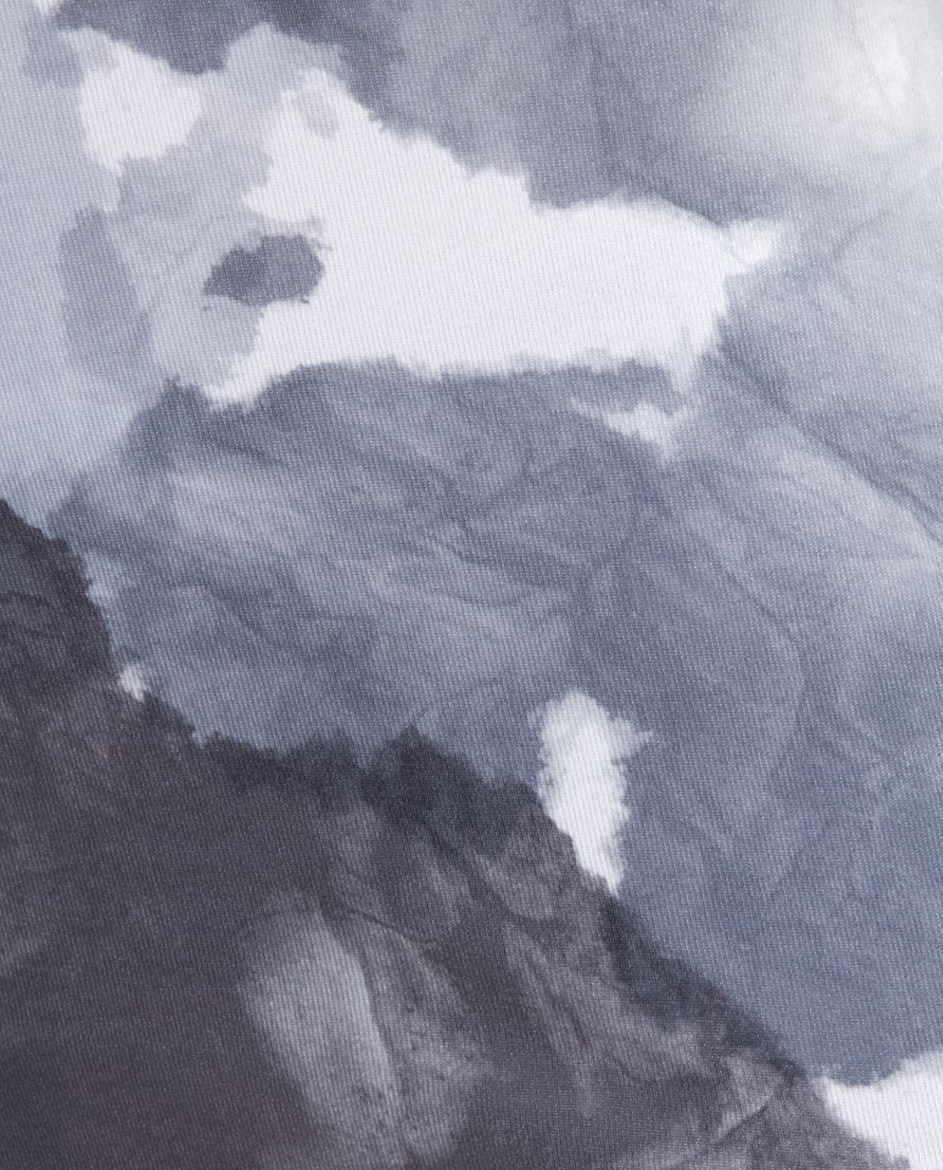 Lululemon Wrap Tank - White Coal Tinted Canvas Super /  Black