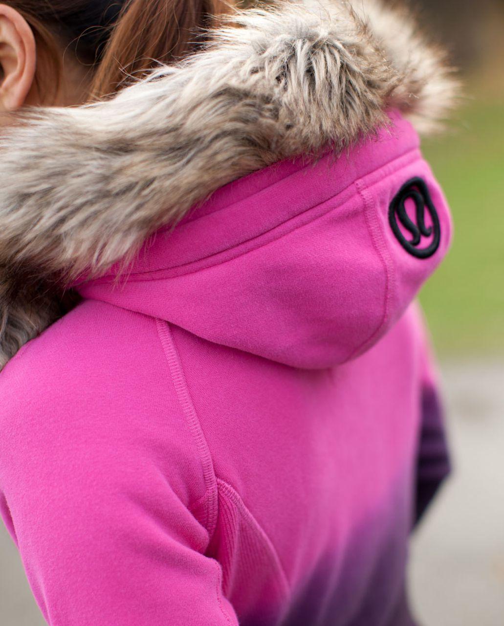 Lululemon Scuba Hoodie *Fur - Paris Pink /  Black