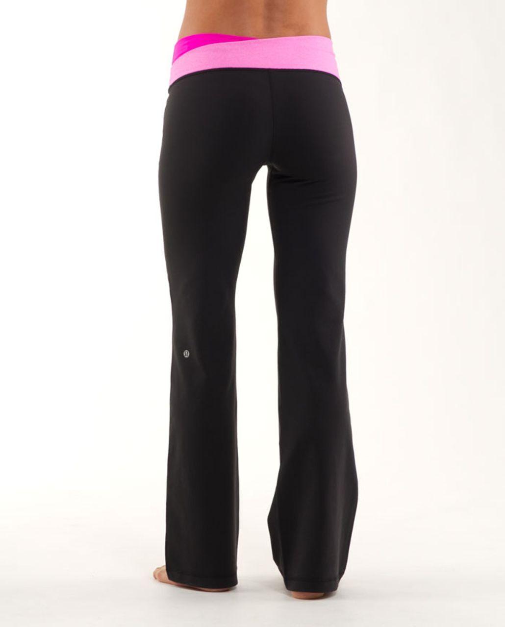 Lululemon Astro Pant (Regular) - Black /  Paris Pink /  Paris Pink White Microstripe