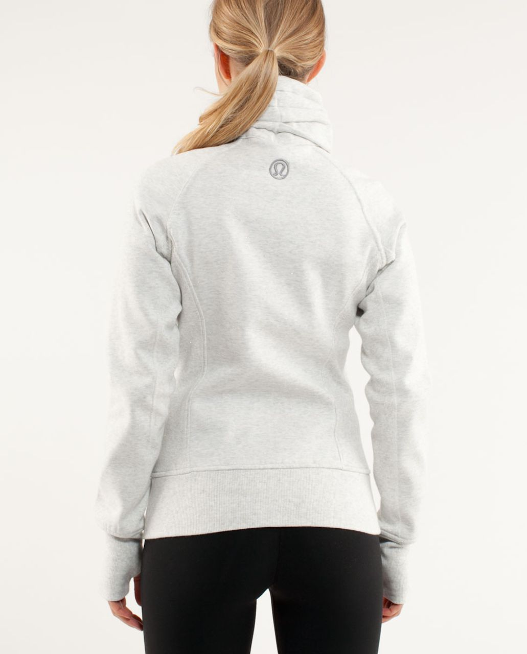 Lululemon Cuddle Up Jacket - Heathered White /  White