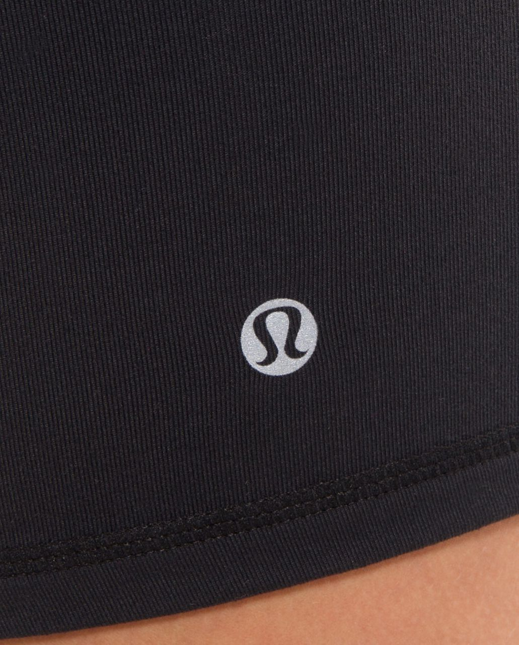 Lululemon Boogie Short - Black /  White Black Microstripe /  Heathered Black