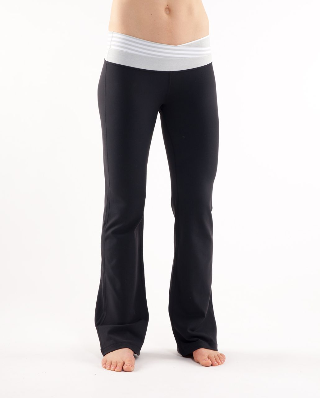 Lululemon Astro Pant (Tall) - Black /  White Silver Spoon Wide Bold Multi Stripe /  Silver Spoon White Narrow Bold Mul