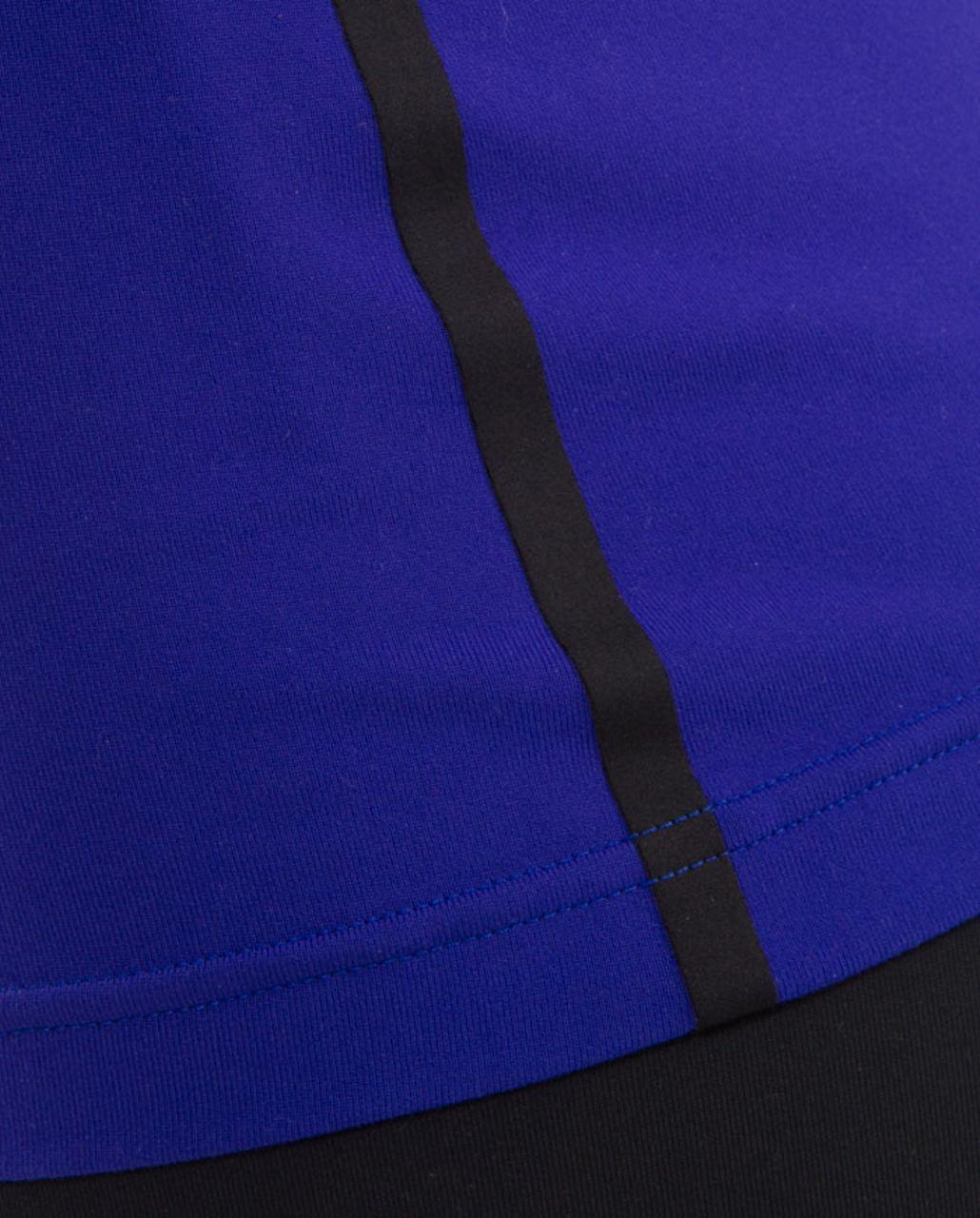 Lululemon Cool Racerback *Bonded - Pigment Blue /  Black