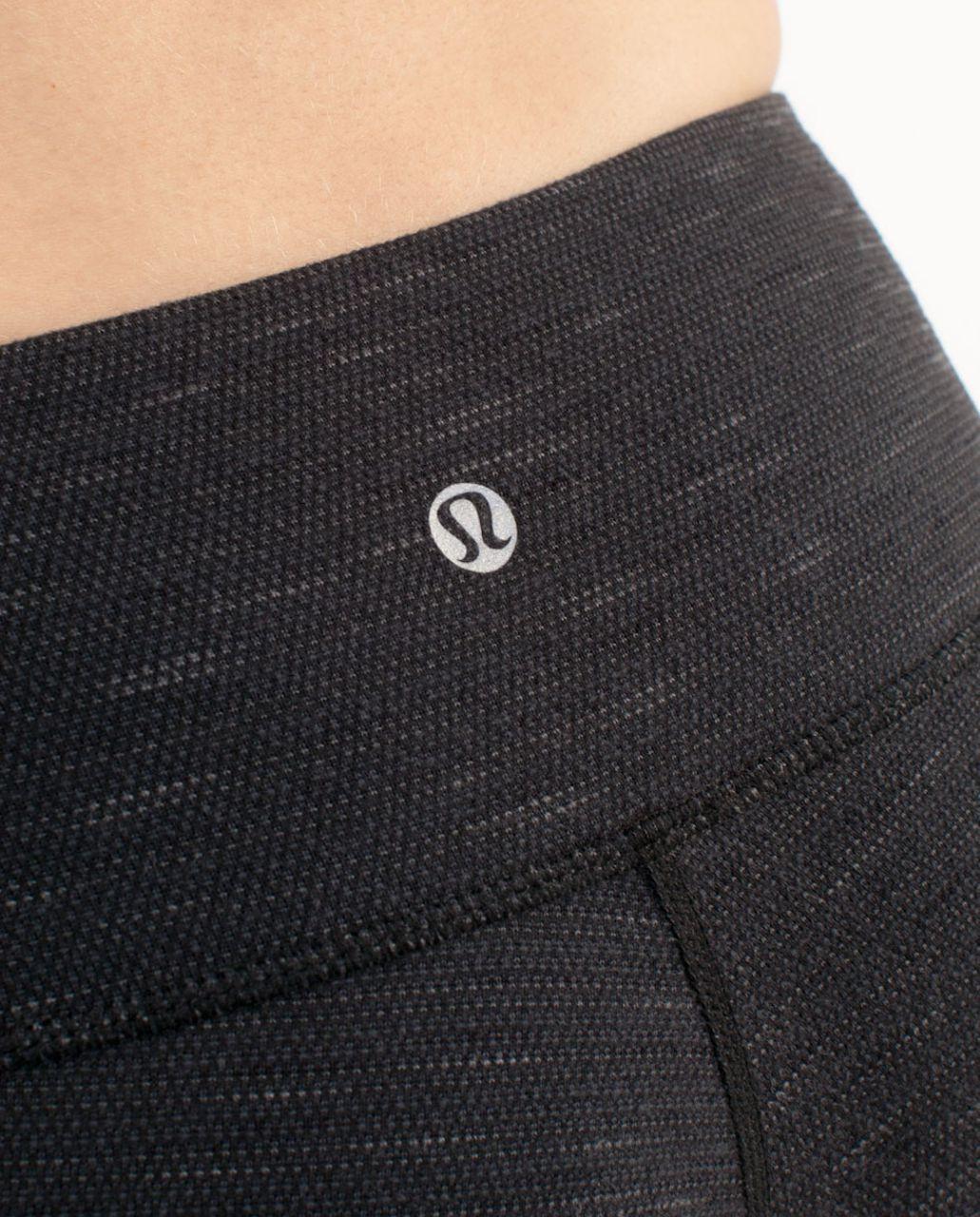 Lululemon Wunder Under Pant *Pique - Black Pique