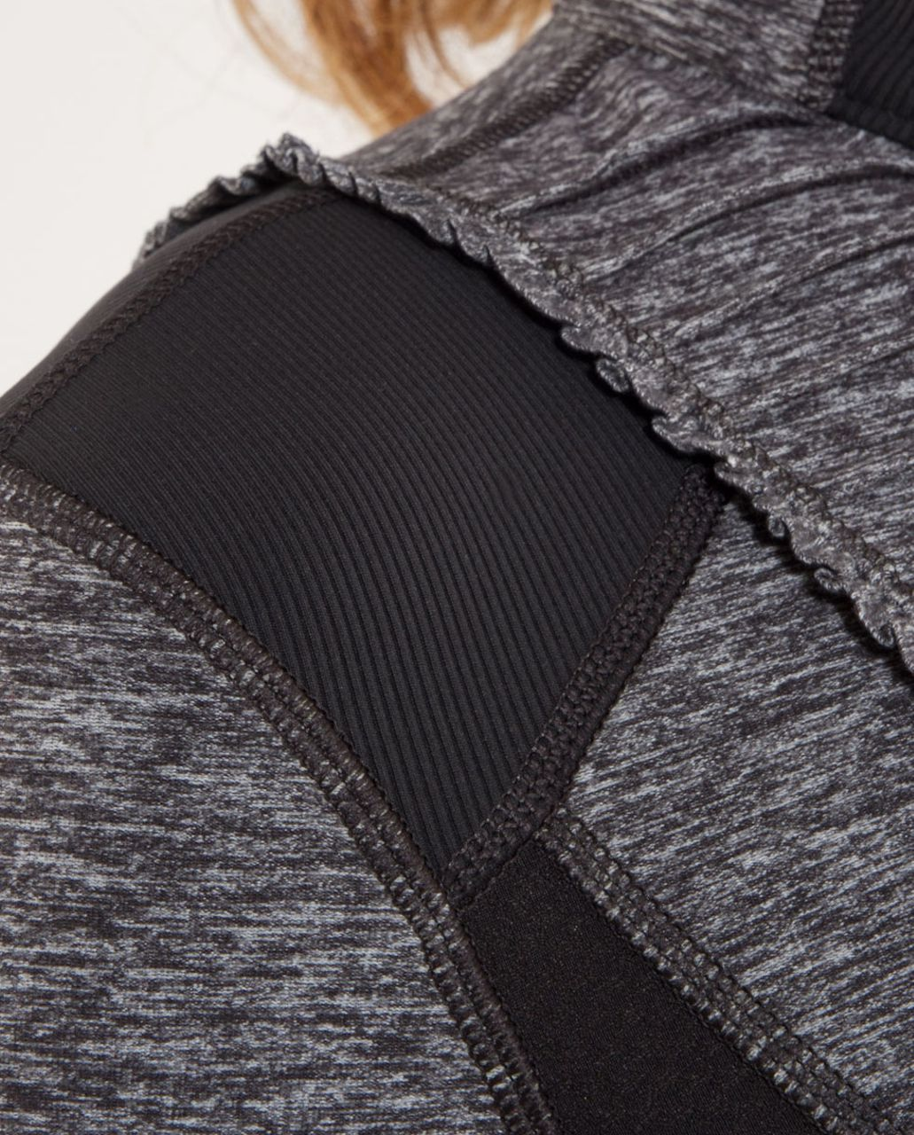 Lululemon Run:  Your Heart Out Pullover - Heathered Black