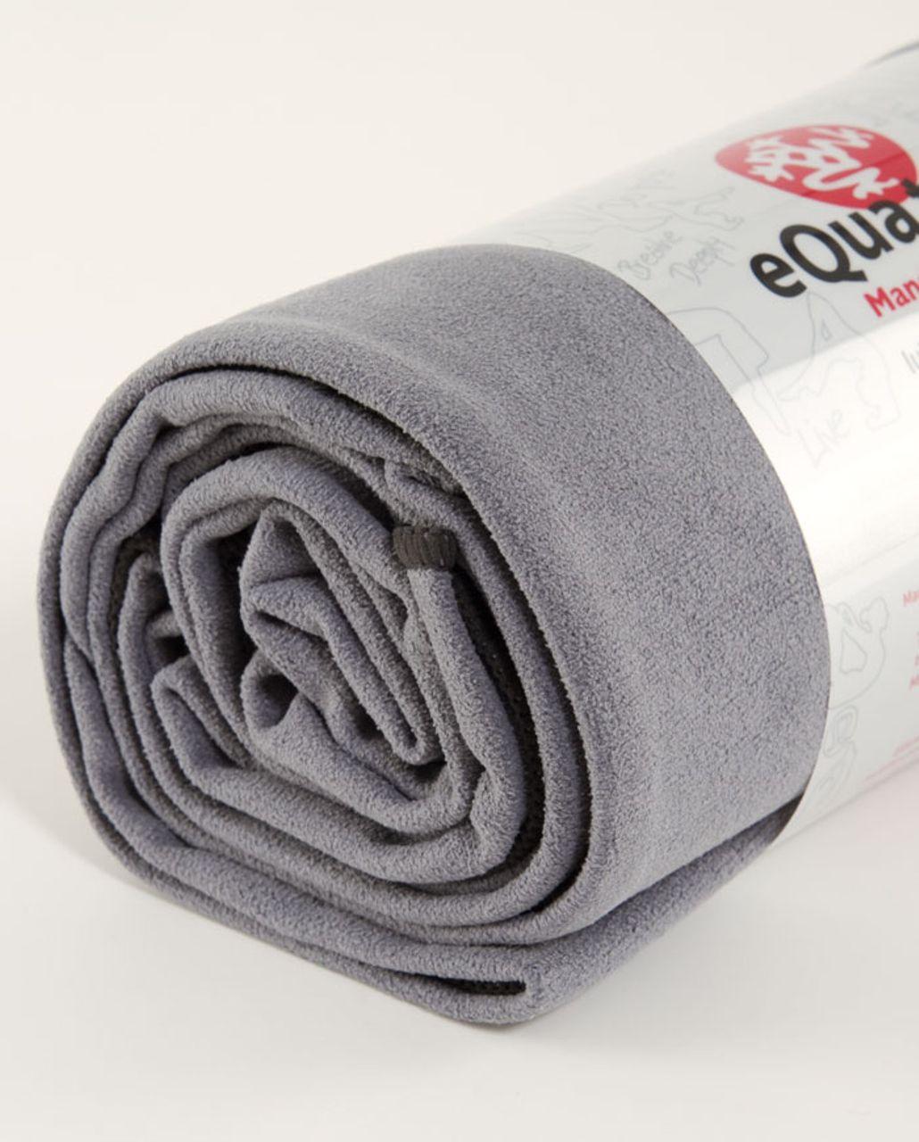 Lululemon Manduka Equa Towel (LG) - Blurred Grey