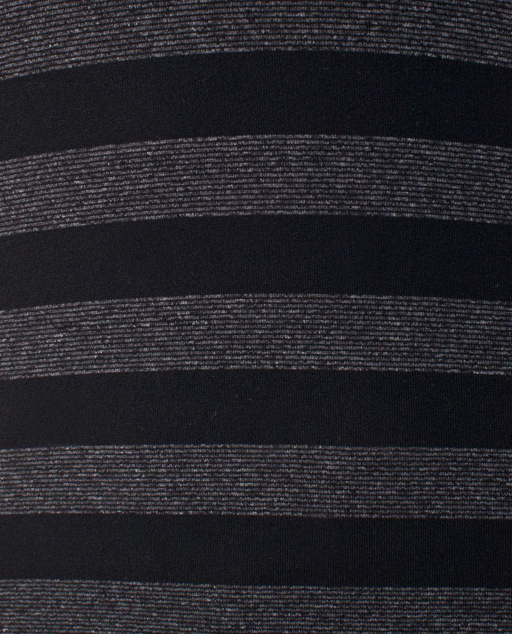 Lululemon Cool Racerback - Black Black Micro Macro Stripe
