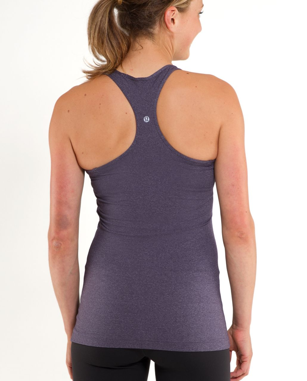Lululemon Cool Racerback - Heathered Black Swan