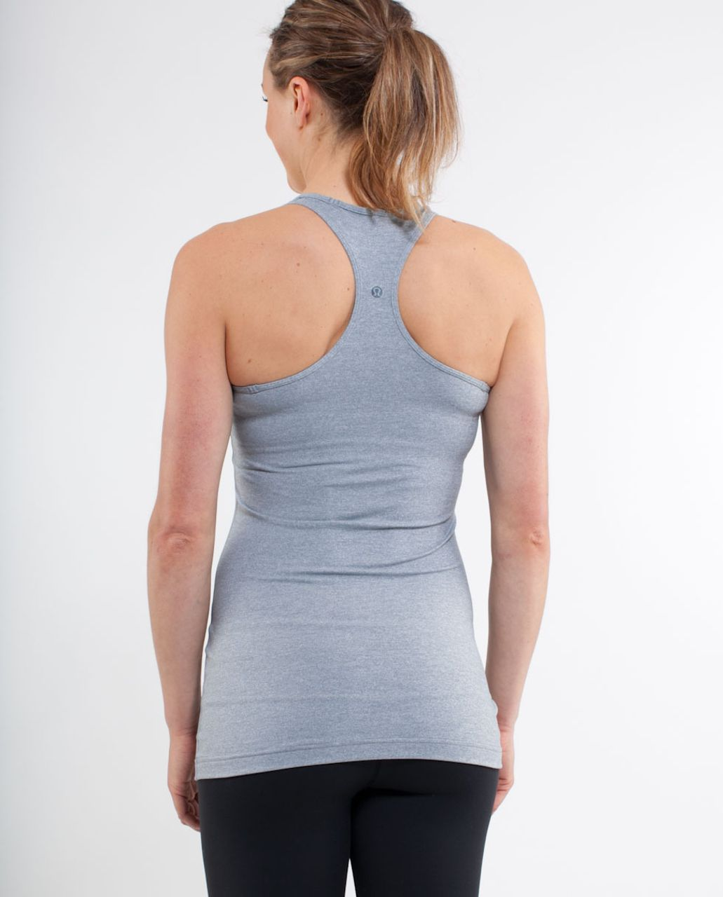 Lululemon Cool Racerback - Heathered Blurred Grey