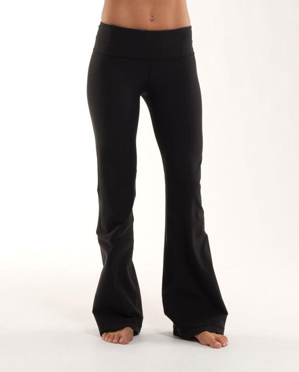 Lululemon Groove Pant (Regular) - Black /  Heathered Blurred Grey /  Quilting Winter 18