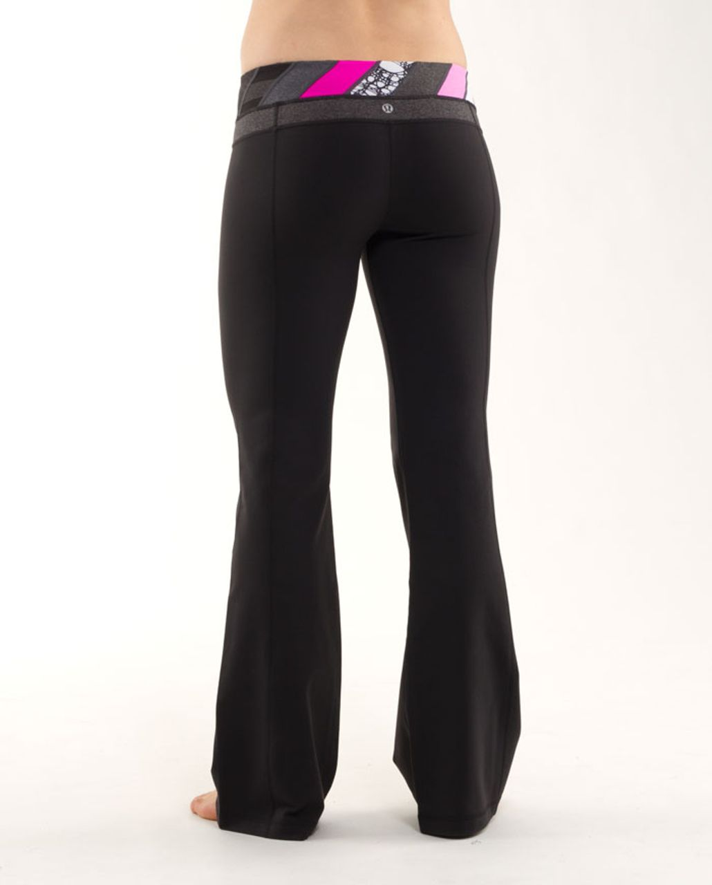 Lululemon Groove Pant (Regular) - Black /  Quilting Winter 7 /  Quilting Winter 7