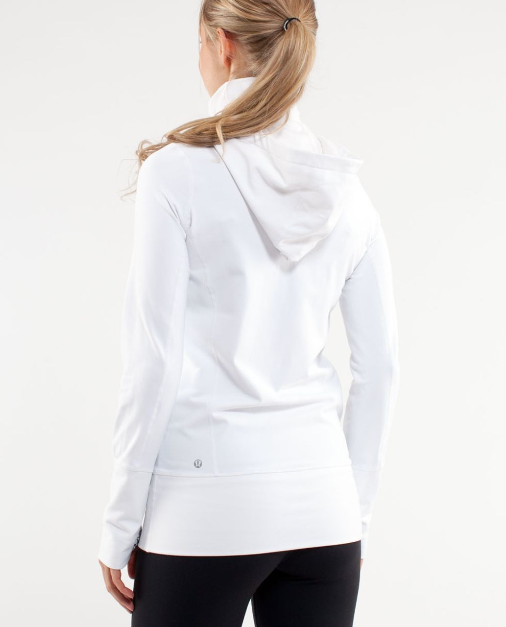 Lululemon Stride Jacket *Brushed - White /  White Black Glacier Lace