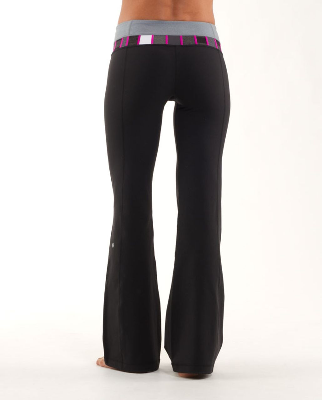 Lululemon Groove Pant (Tall) - Black /  Heathered Blurred Grey /  Quilting Winter 18