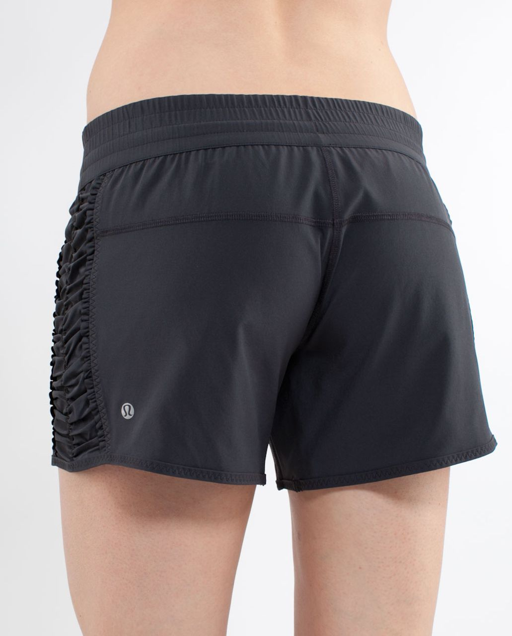 Lululemon Run:  Around Short - Deep Coal