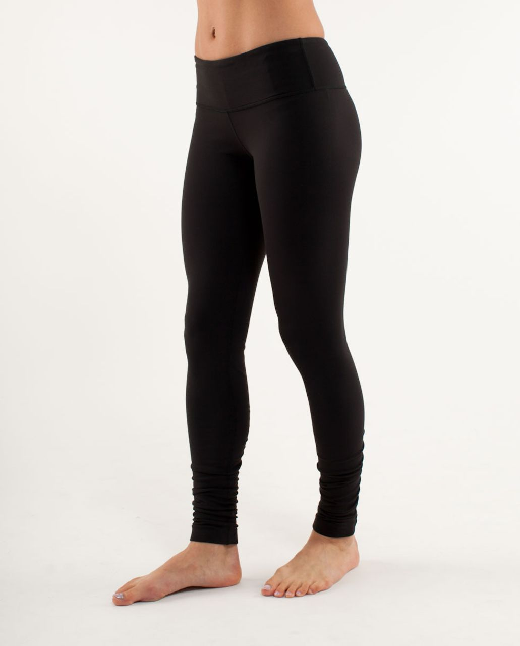 Lululemon Wunder Under Pant *Gathers - Black