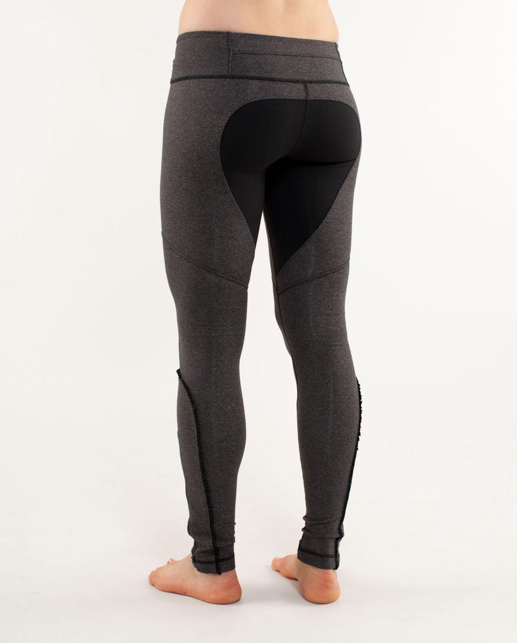 Lululemon Dressage Pant - Heathered Black /  Black