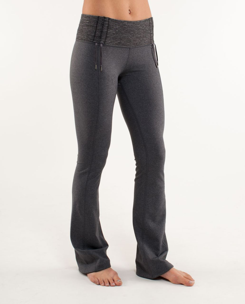 Lululemon Recognition Pant - Heathered Coal /  Black Heathered Coal Mini Check