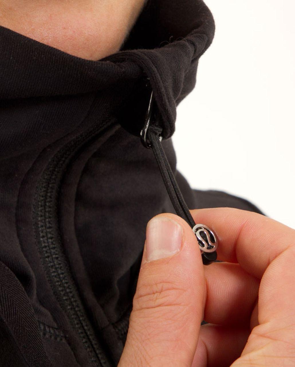 Lululemon Stride Jacket - Black Glacier Lace Embossed /  Black
