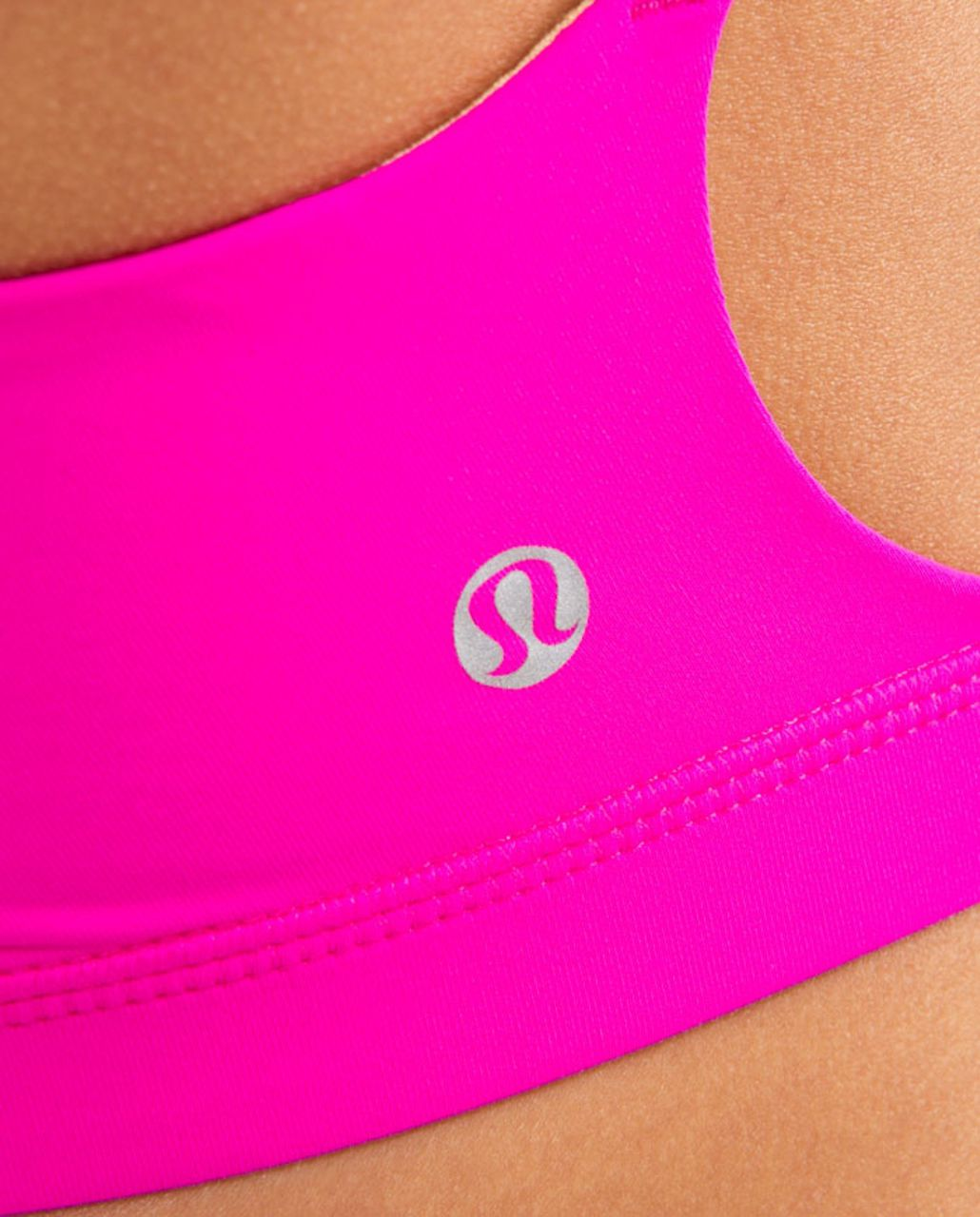Lululemon Hot 'N Sweaty Bra - Paris Pink