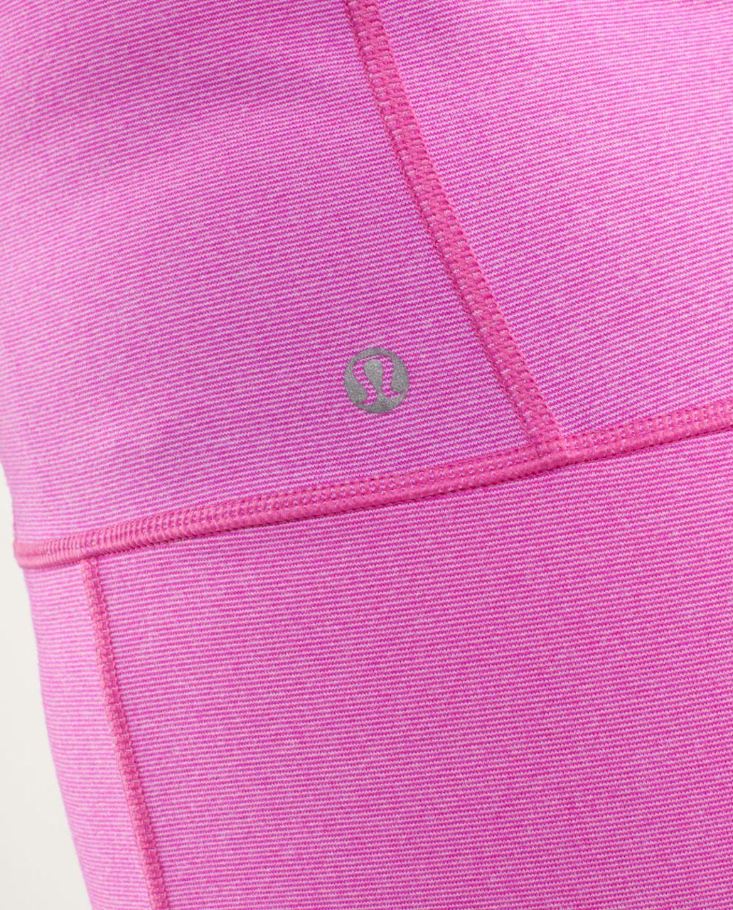 Lululemon Stride Jacket - Paris Pink White Microstripe /  Paris Pink