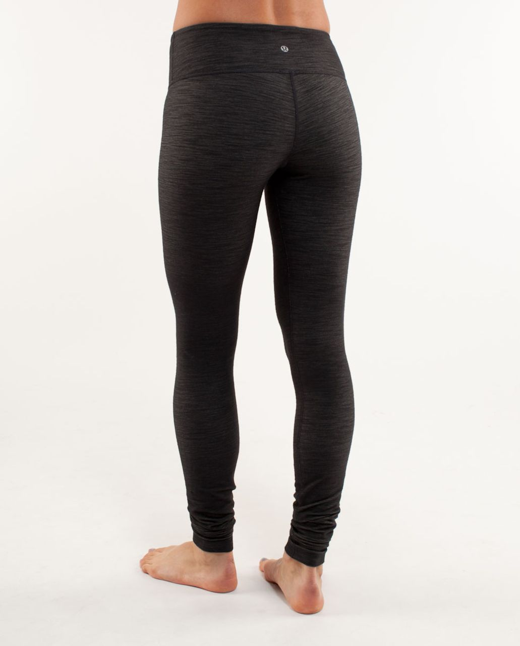 Lululemon Wunder Under Pant *Denim - Black Deep Coal Slub Denim