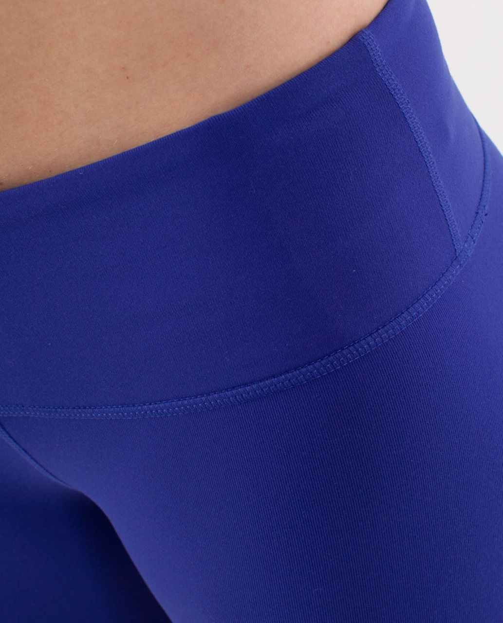 Lululemon Wunder Under Crop - Pigment Blue