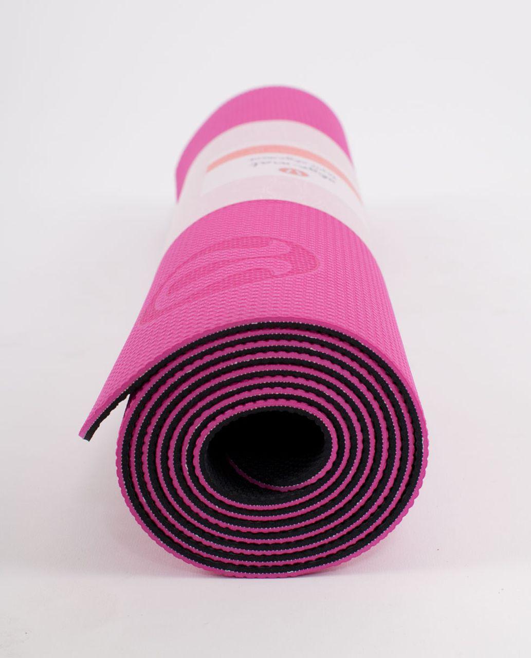 Lululemon Align Ultra Mat - Paris Pink /  Deep Coal