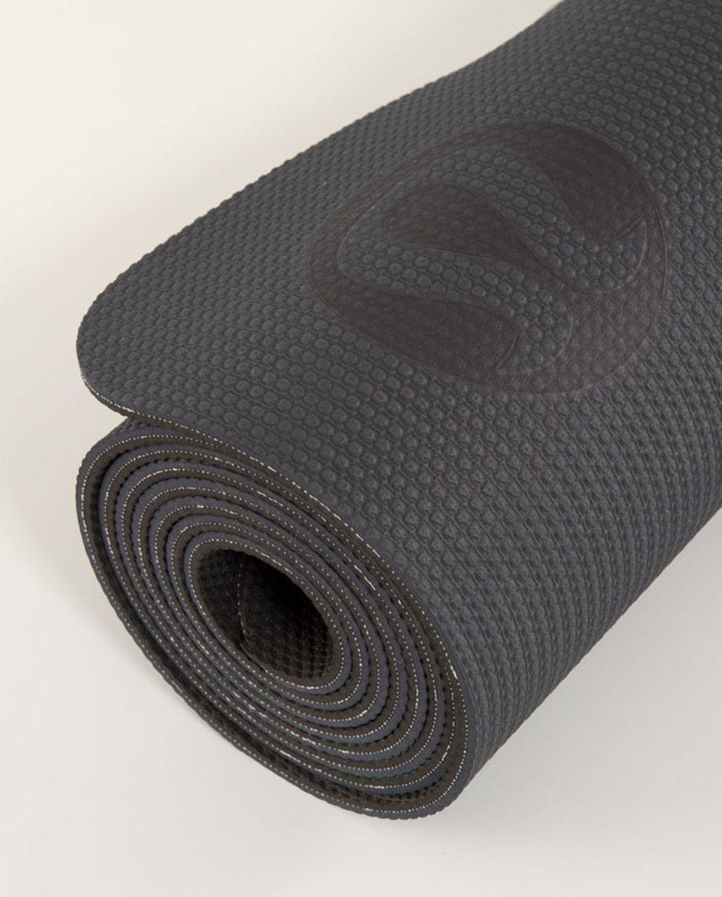 Lululemon Align Ultra Mat - Coal /  Black