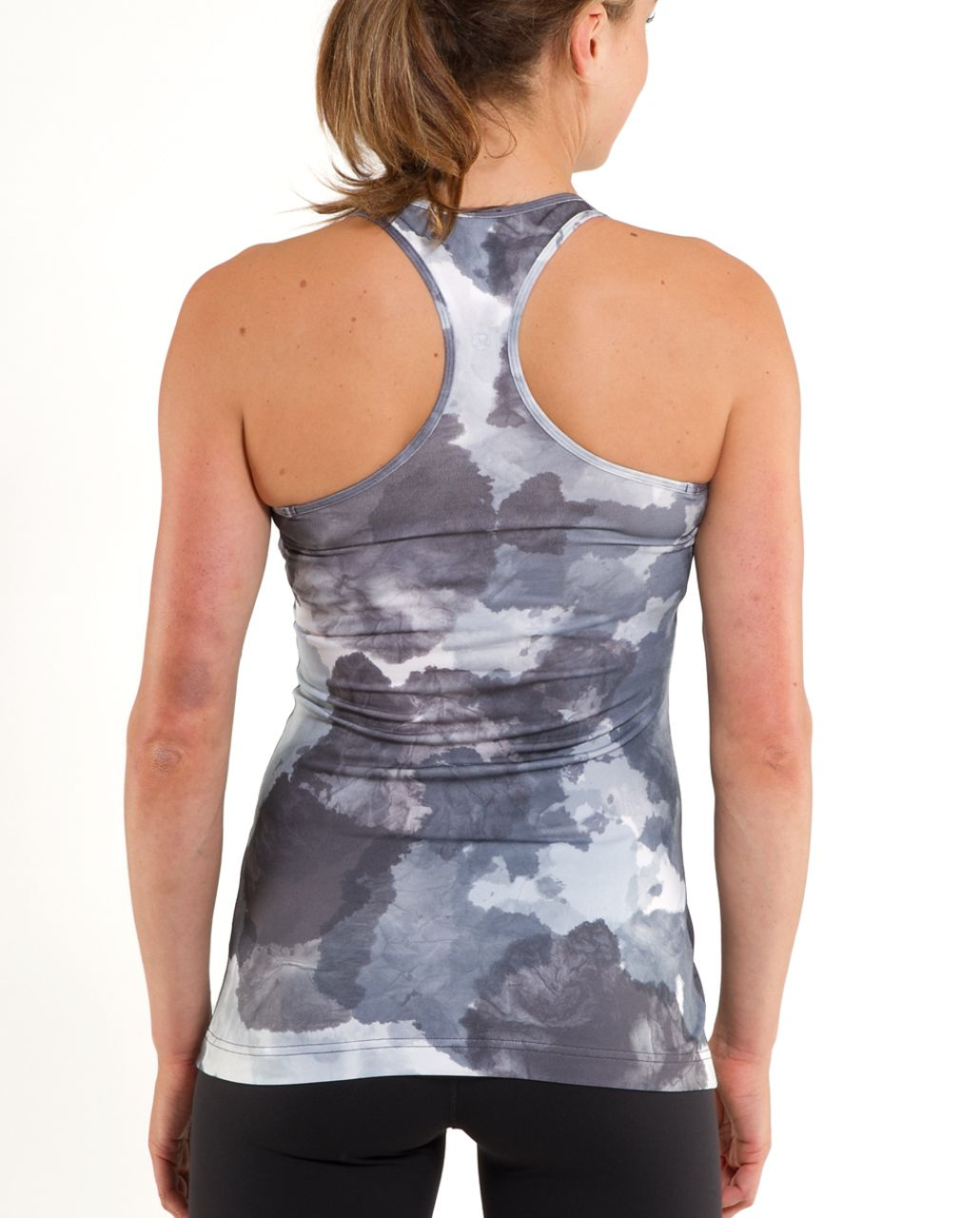 Lululemon Cool Racerback - White Coal Tinted Canvas Super