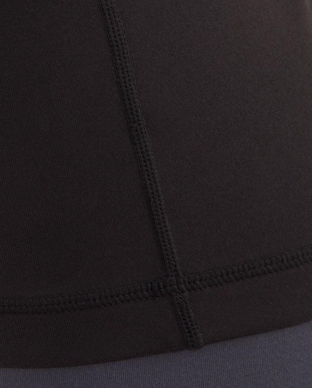 Lululemon Scoop Neck Tank - Black /  Black Glacier Lace Embossed