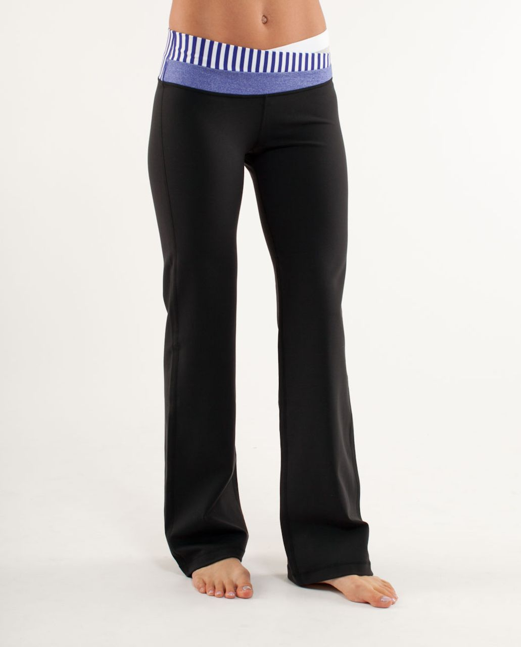 Lululemon Astro Pant (Regular) - Black /  White Silver Spoon Wide Bold Multi Stripe /  Pigment Blue White Narrow Bold Stre
