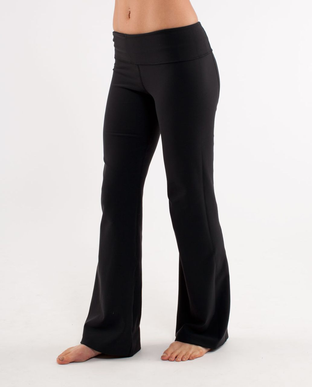 Lululemon Groove Pant (Regular) - Black /  Winter Quilt Ii
