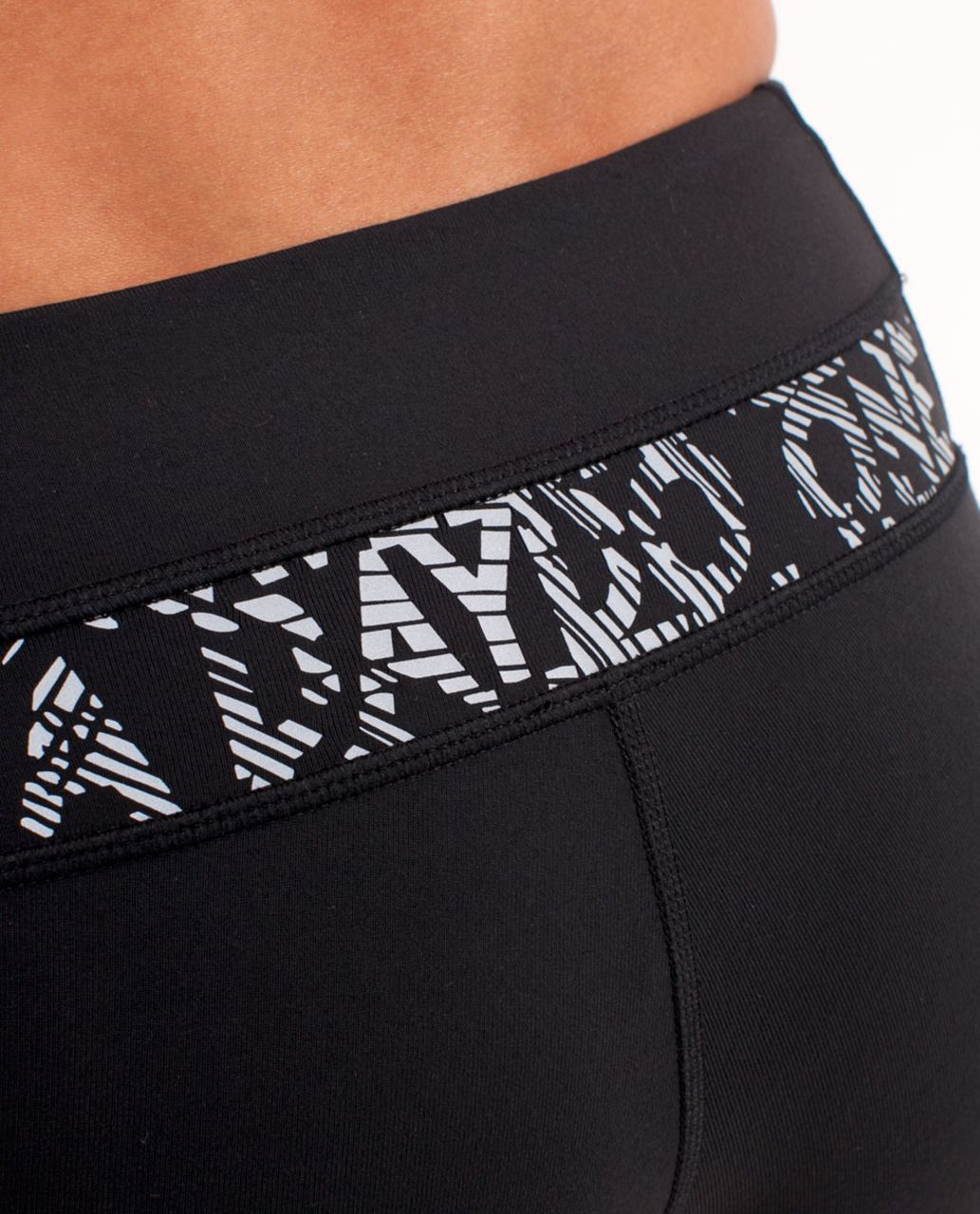 Lululemon Groove Pant (Regular) - Black /  Reflective Water Sketch