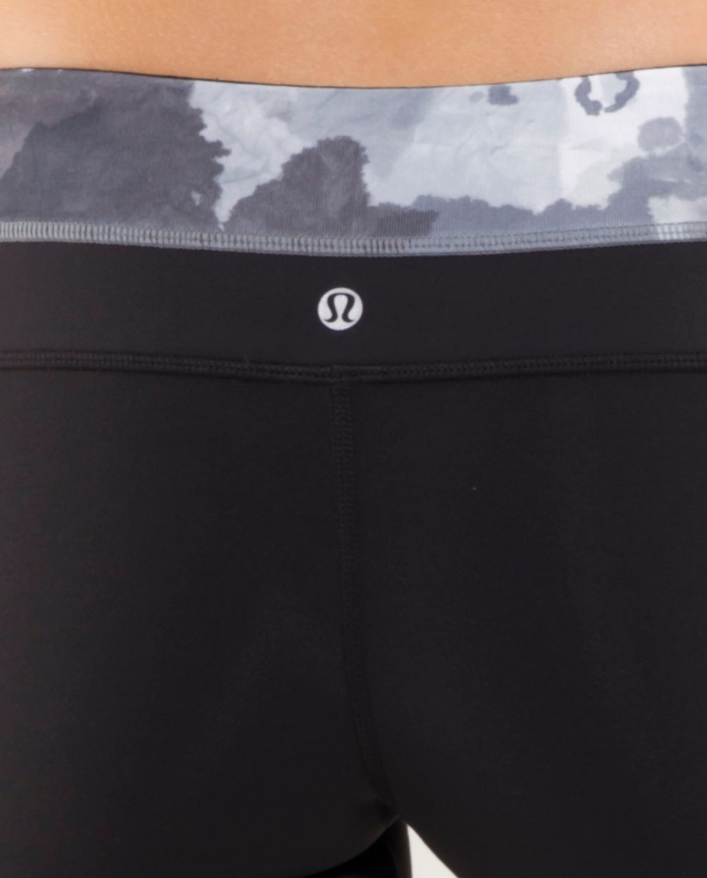 Lululemon Groove Pant (Tall) - Black /  White Coal Tinted Canvas Super