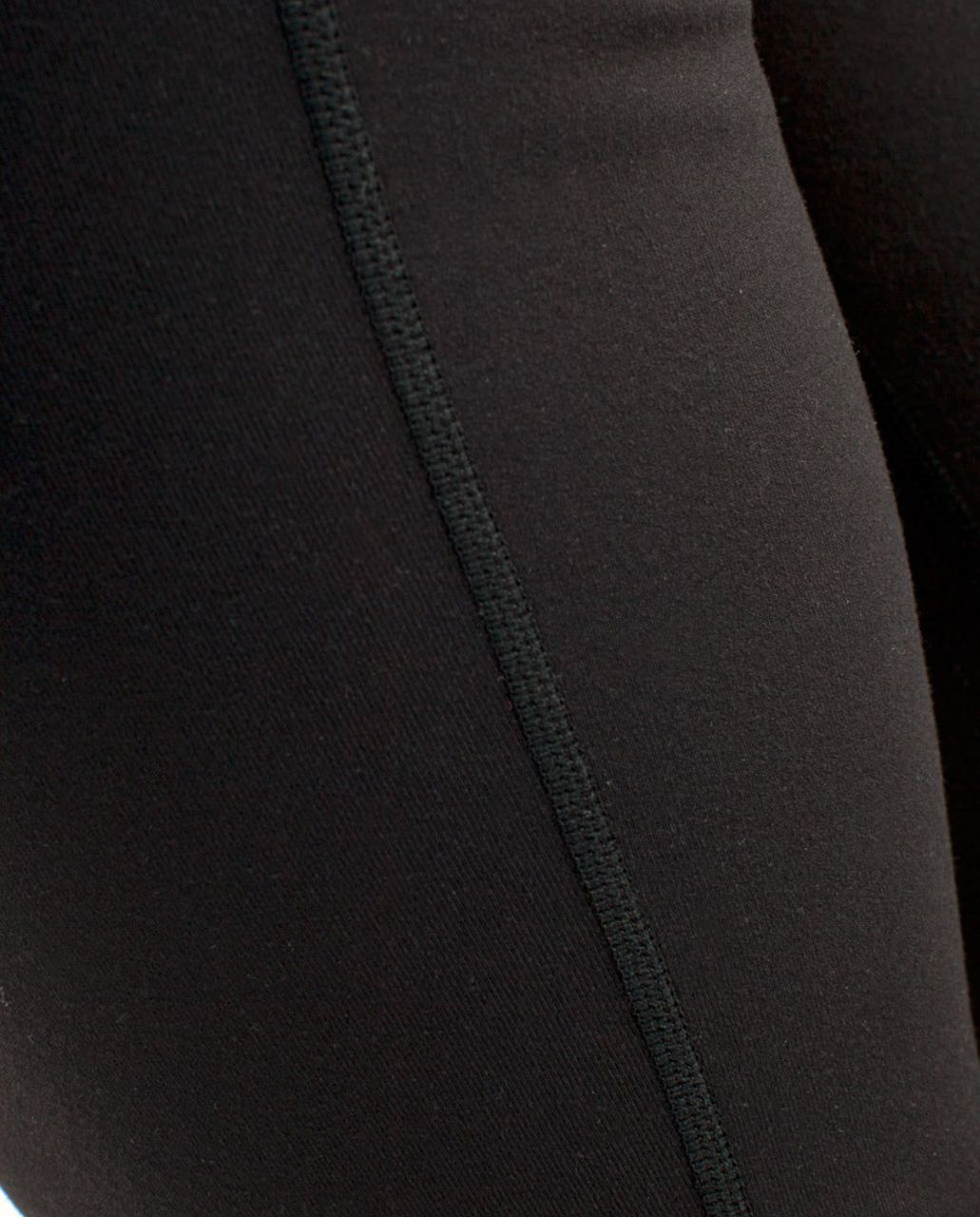 Lululemon Groove Crop - Black /  White Coal Tinted Canvas Super