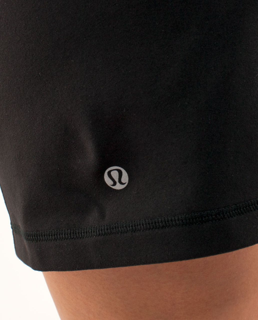 Lululemon Knock Out Short - Black /  Black Microstripe