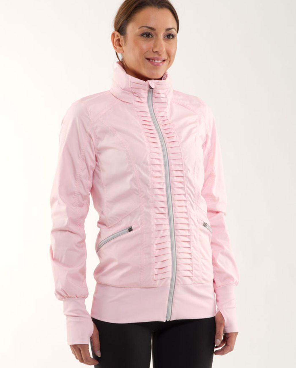 Lululemon Run:  Back On Track Jacket - Pig Pink