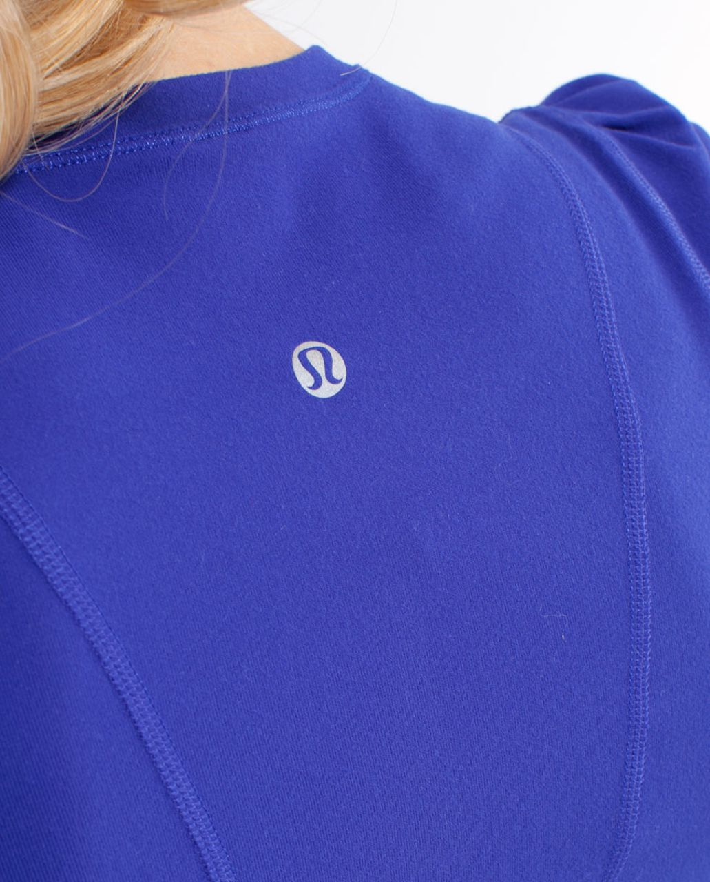 Lululemon Run:  Back On Track Long Sleeve Tech - Pigment Blue
