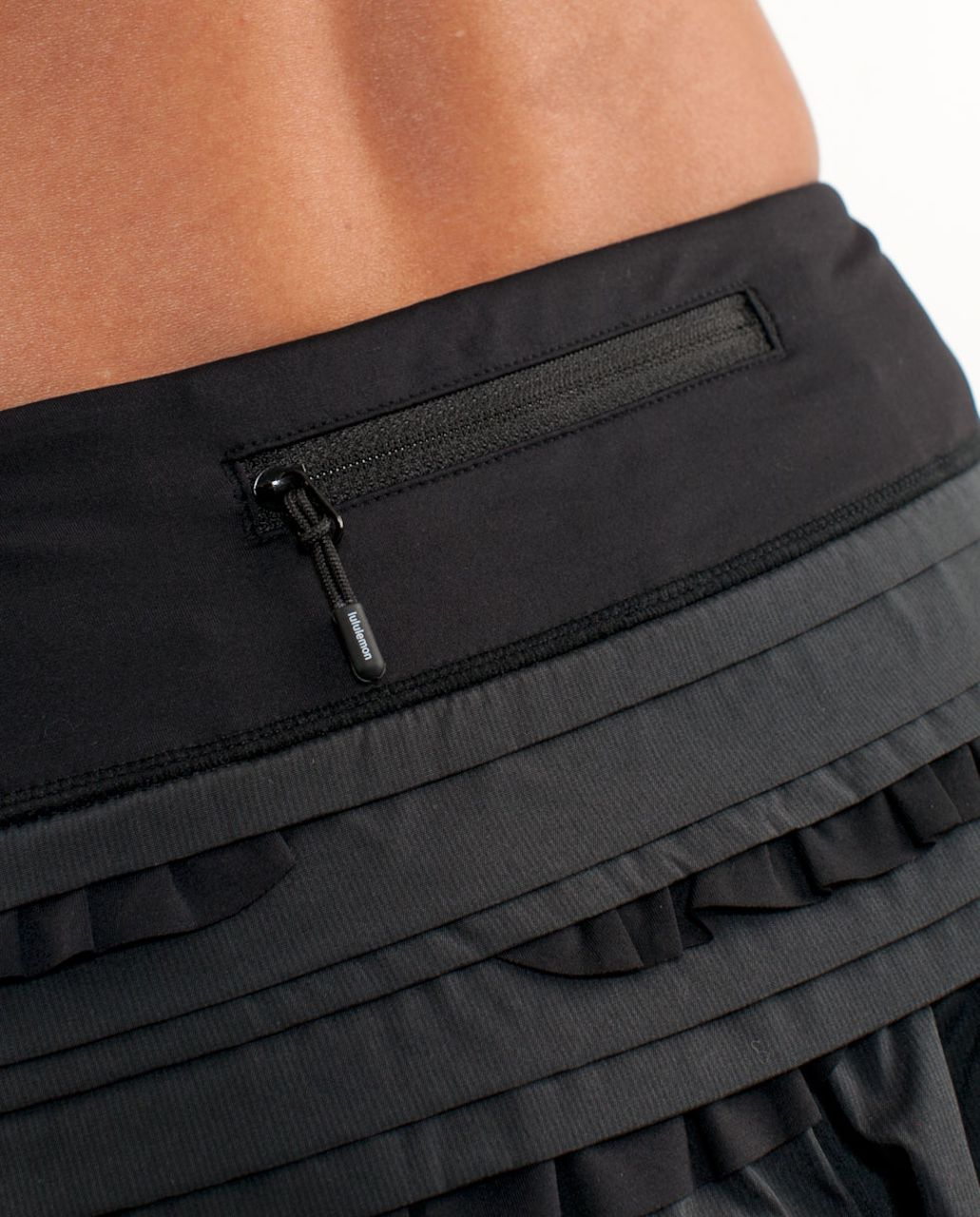 Lululemon Run:  Back On Track Skirt - Black