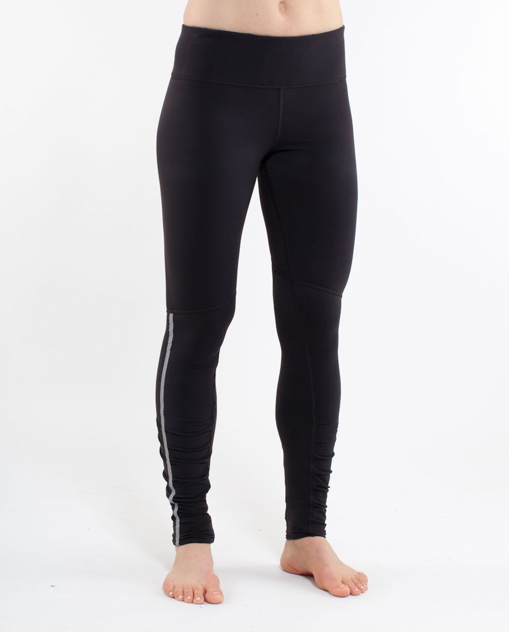 Lululemon Run:  Stay On Course Tight - Black