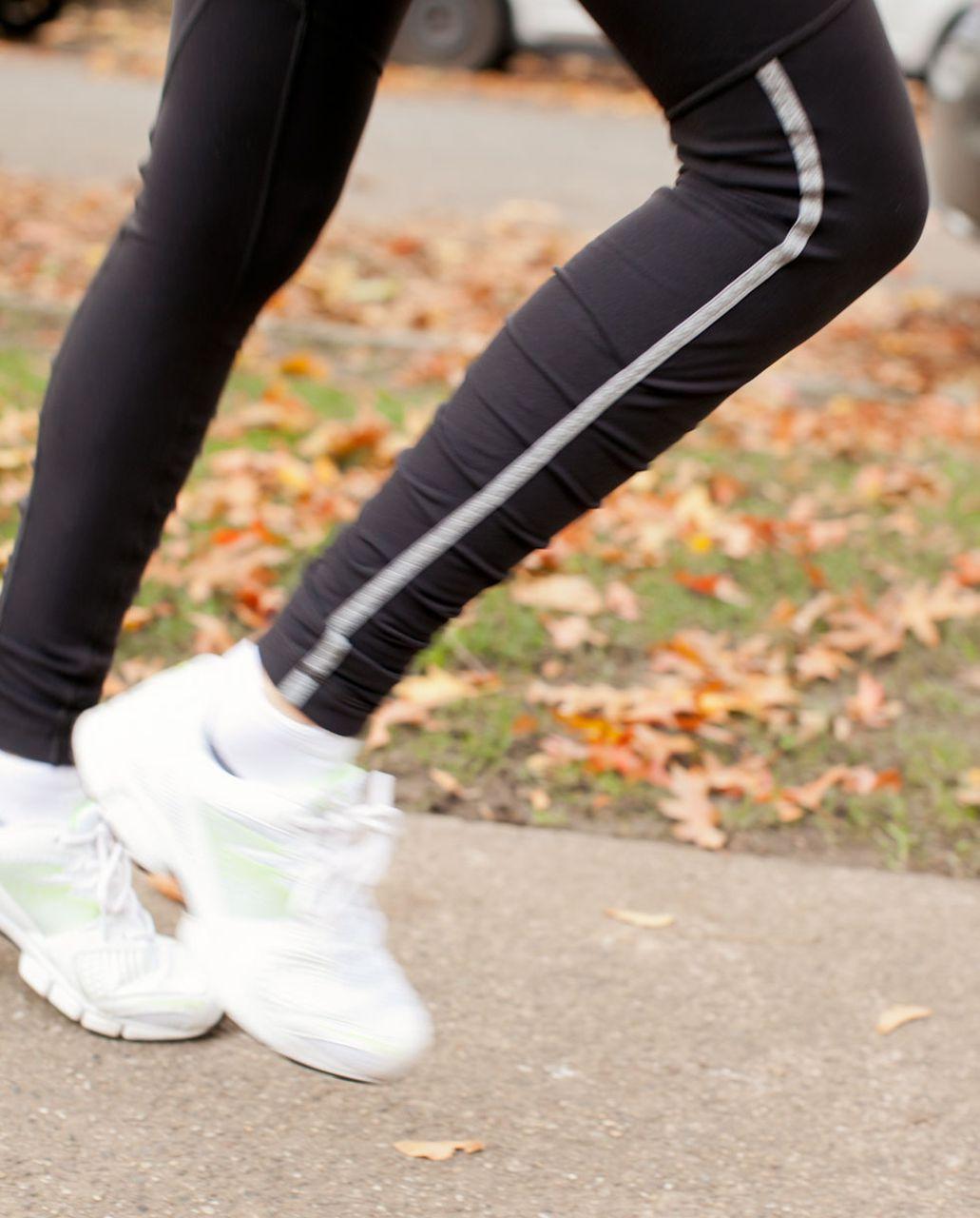 Lululemon Run:  Stay On Course Tight - Black