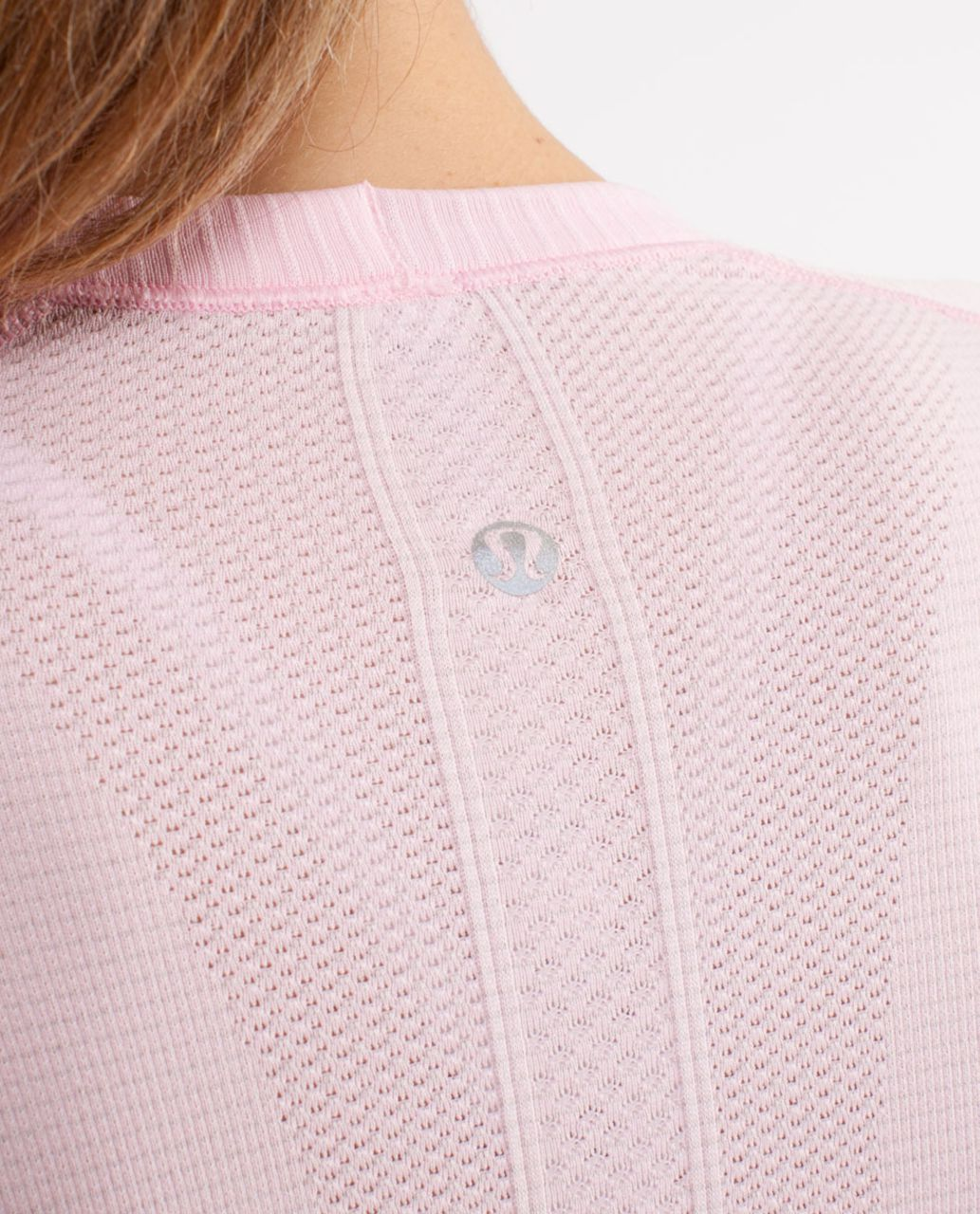 Lululemon Run:  Swiftly Tech Long Sleeve - Pig Pink