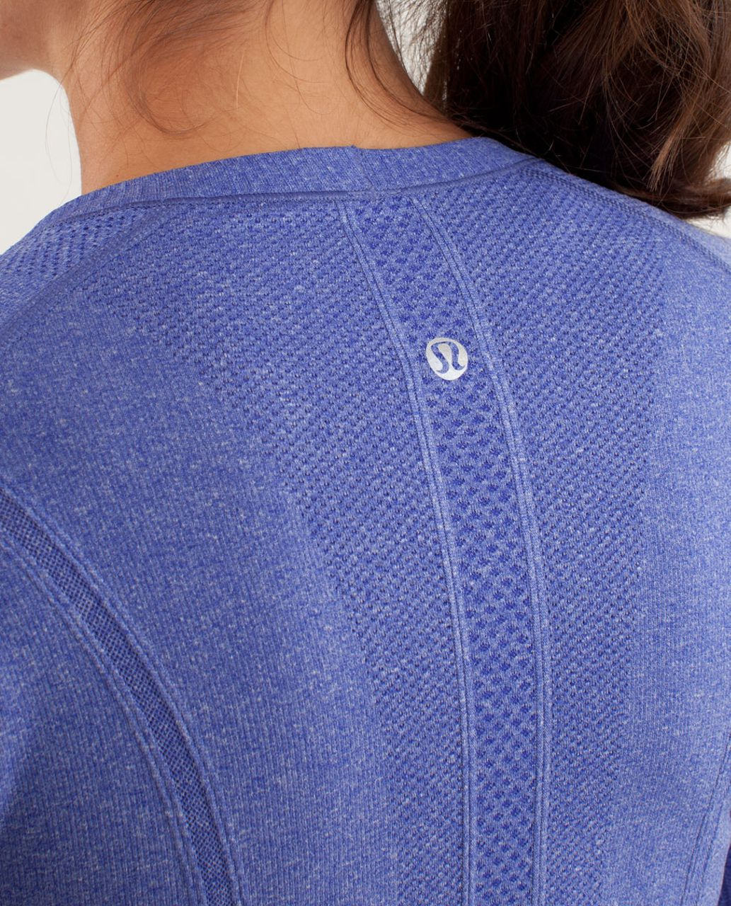 Lululemon Run:  Swiftly Tech Long Sleeve - Pigment Blue